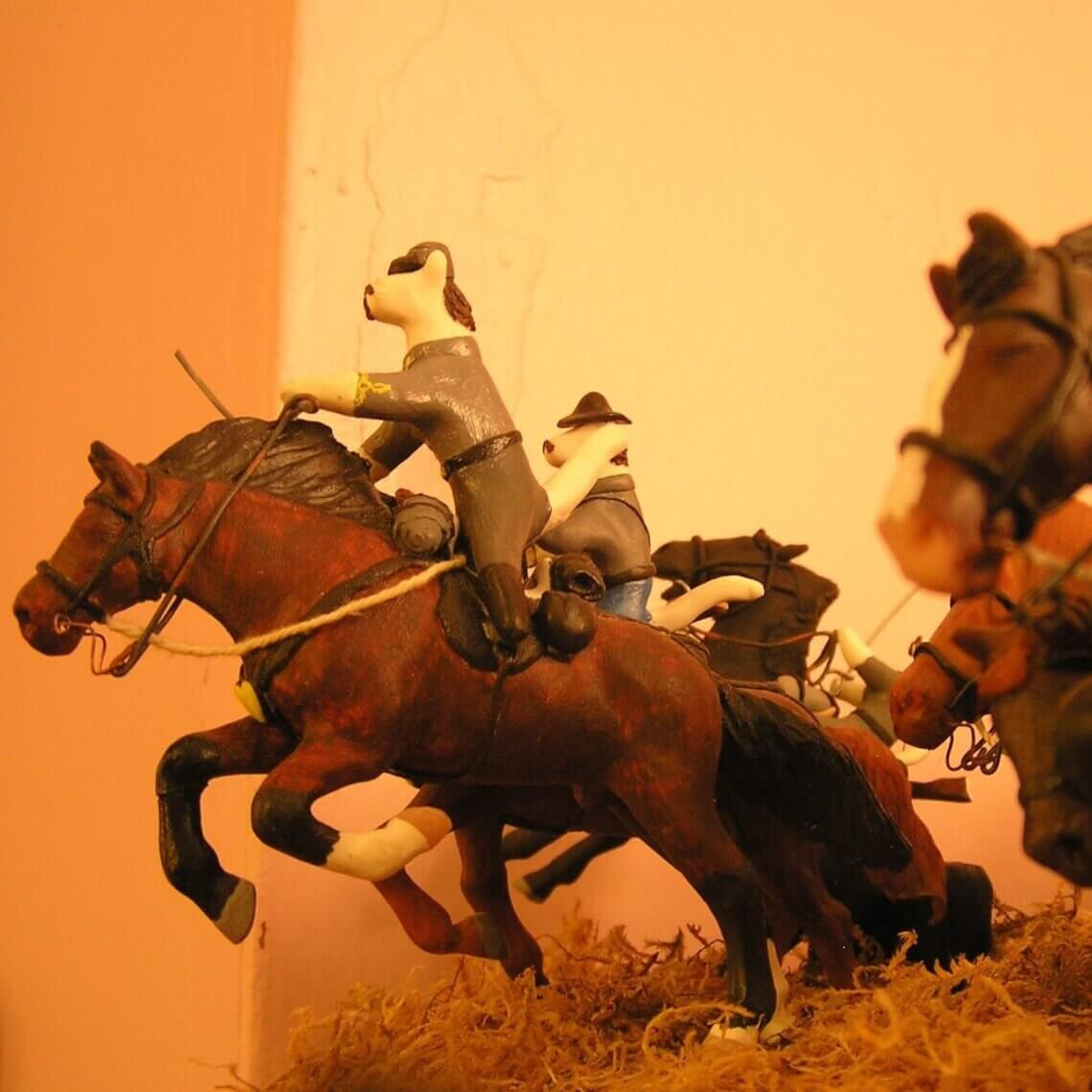 Civil War Tails at the Homestead Diorama Museum, LLC in Gettysburg , PA
