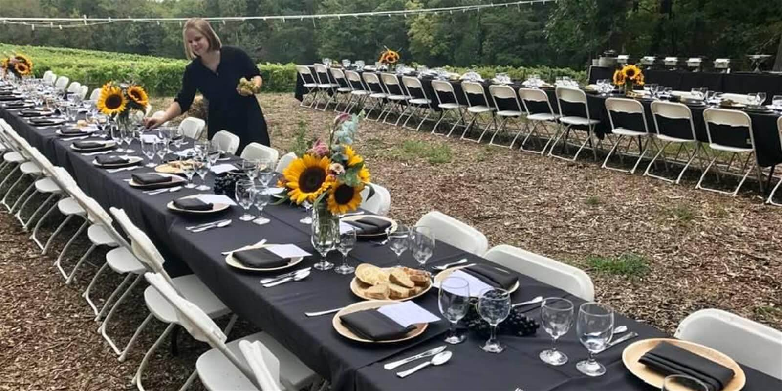 Dine in the Vineyard