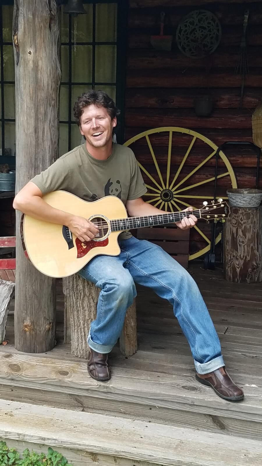 Brandon Robey performing live