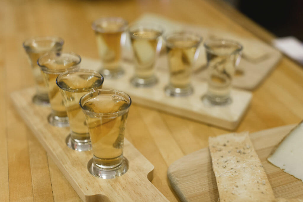 Good Intent Cider Flights_Alexandra Whitney Photography
