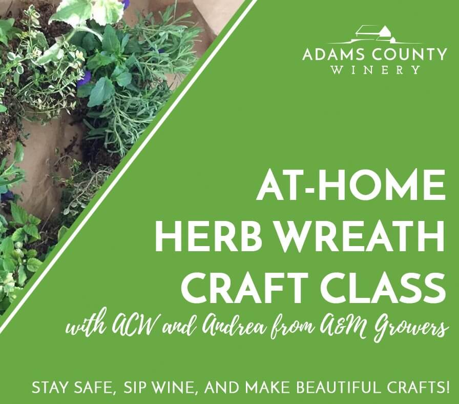 At-Home Herb Wreath Craft Class