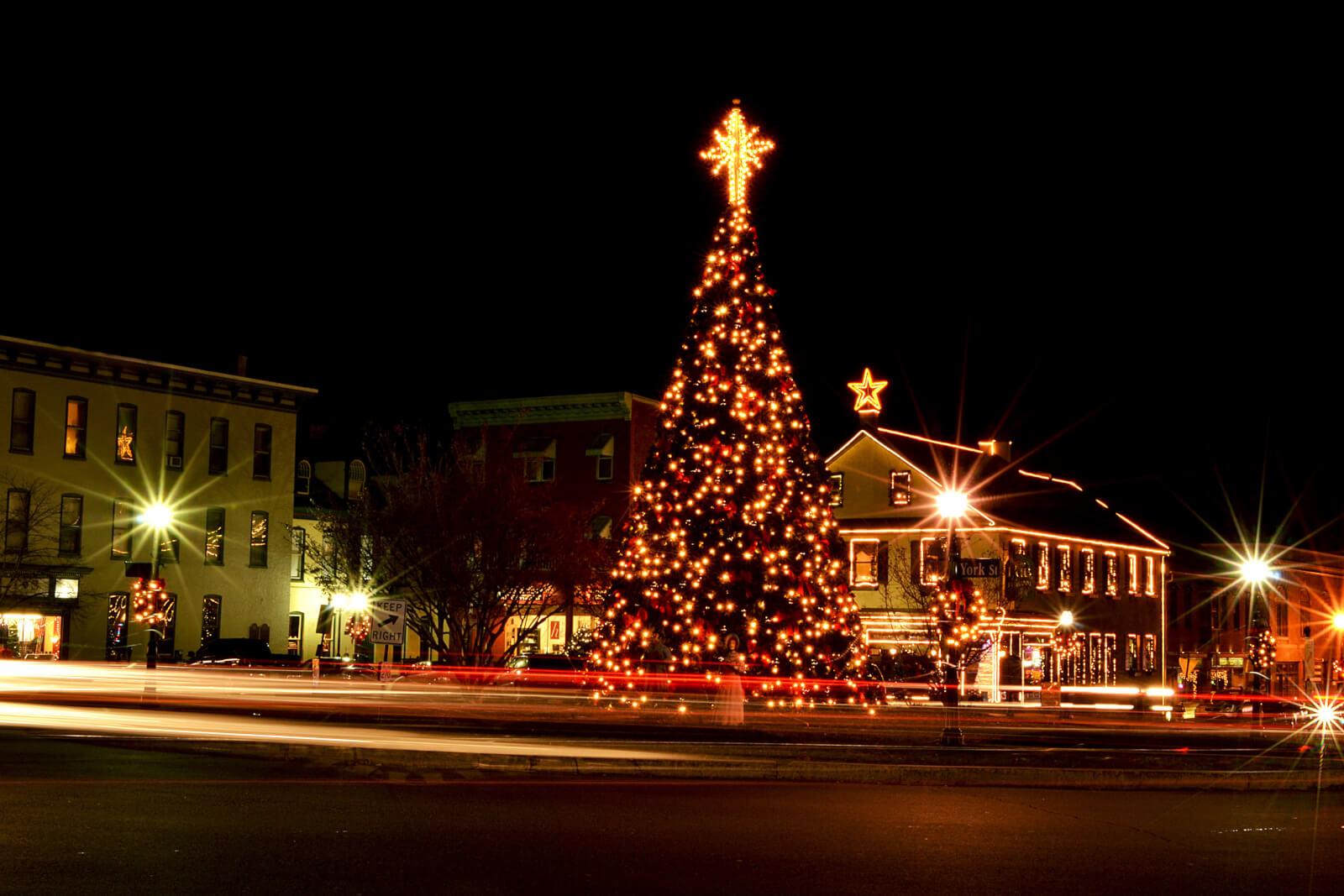 Gettysburg Christmas Tree Lighting 2021 Twelve Ways To Get In The Holiday Spirit In Gettysburg