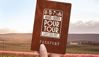 Follow the Adams County Pour Tour