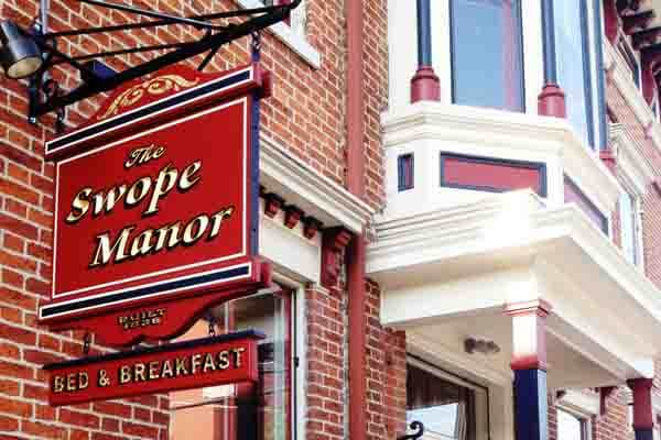 The Swope Manor Bed & Breakfast in Gettysburg, PA