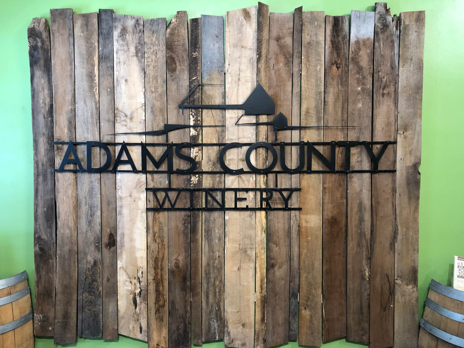 Adams County Winery- Gettysburg Wine Shop