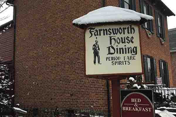 Farnsworth House Inn Restaurant and Sweney's Tavern