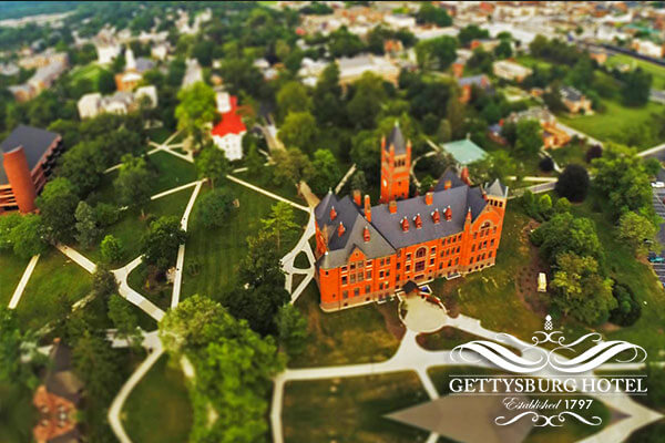 Gettysburg College Campus Tour Package
