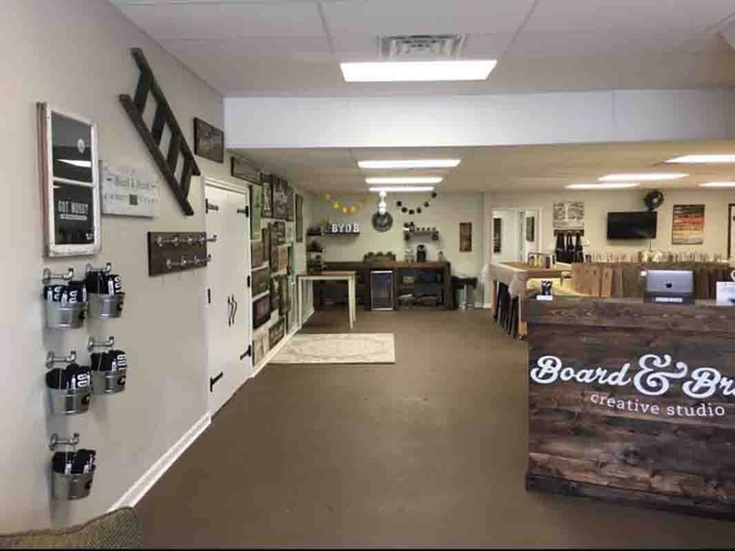 board  u0026 brush creative studio