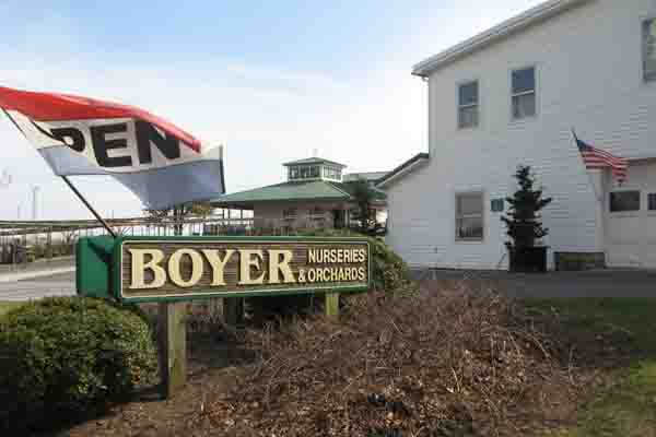 Boyer Nurseries & Orchards in Biglerville, PA