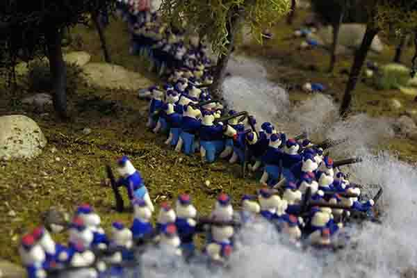 Civil War Tails at the Homestead Diorama Museum, LLC