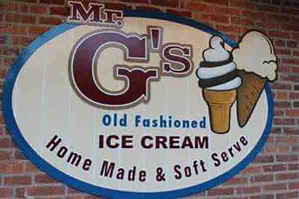 Mr. G's Ice Cream in Gettysburg, PA