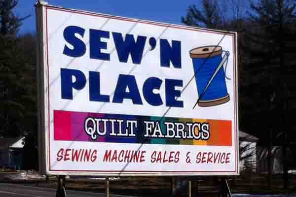The Sew'n Place in Fayetteville, PA