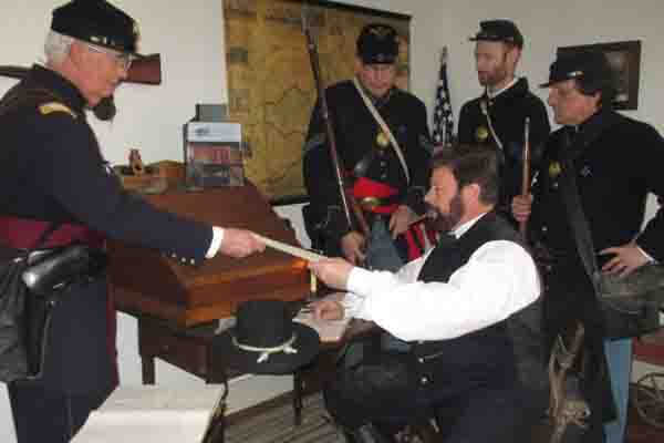 A Conversation with General Grant in Gettysburg, PA