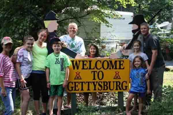 Gettysburg KOA Kampground in Gettysburg, PA