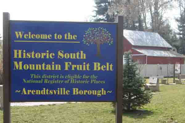 Historic South Mountain Fruit Belt - America's Orchard in Adams County, PA