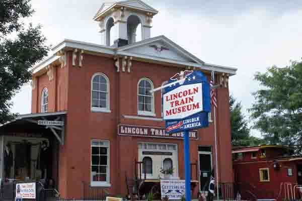 Lincoln Train Museum in Gettysburg, PA