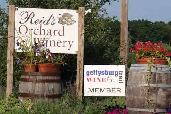 Reid's Winery & Cider House Cafe in Gettysburg, PA