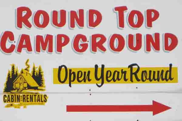 Round Top Campground in Gettysburg, PA