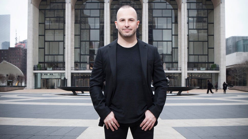 Picture of Yannick standing outside the Met Opera